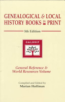 Genealogical & Local History Books in Print