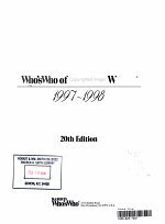 Who's Who of American Women, 1997-1998