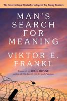 Man s Search for Meaning  Young Adult Edition PDF