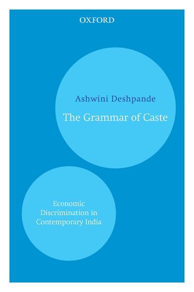 Download The Grammar of Caste Book