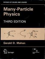 Many Particles Physics, 3E