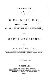 Elements of Geometry, Plane and Spherical Trigonometry, and Conic Sections