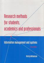 Research Methods for Students, Academics and Professionals