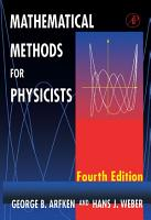 Mathematical Methods for Physicists PDF