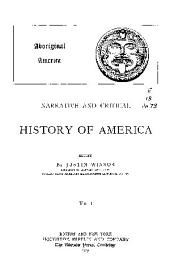 Narrative and Critical History of America: Aboriginal America. 1889