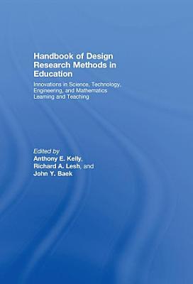 Handbook of Design Research Methods in Education PDF