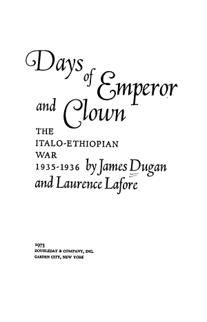 Days of Emperor and Clown PDF