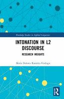 Intonation in L2 Discourse
