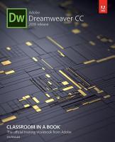 Adobe Dreamweaver CC Classroom in a Book  2019 Release  PDF