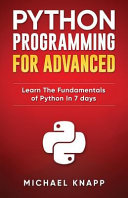Python Programming for Advanced PDF