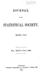 Journal of the Royal Statistical Society: Volume 43
