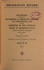 Immigration Reform PDF