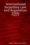 International Securities Law and Regulat PDF