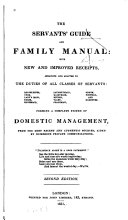 The Servant's Guide and Family Manual