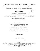 Encyclopædia Metropolitana: Volume 2