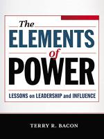 The Elements of Power PDF