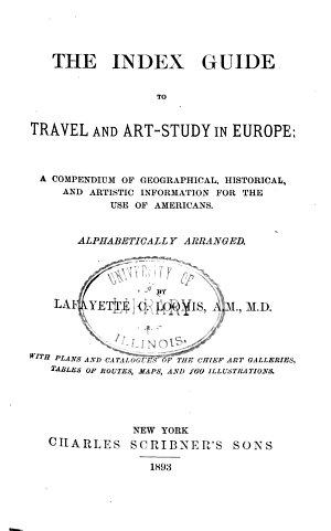 The Index Guide to Travel and Art study in Europe