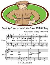 Pack Up Your Troubles In Your Old Kit Bag - Easiest Piano Sheet Music