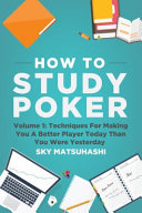 How to Study Poker