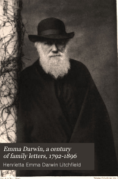 Emma Darwin: A Century of Family Letters, 1792-1896