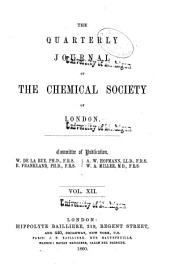 Journal of the Chemical Society: Volume 12