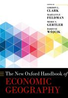 The New Oxford Handbook of Economic Geography PDF