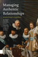 Managing Authentic Relationships PDF