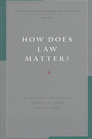 How Does Law Matter  PDF