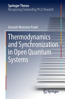 Thermodynamics and Synchronization in Open Quantum Systems PDF