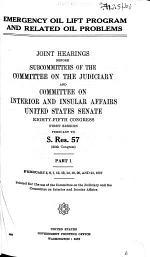 pt.1. February 5-7, 12, 13, 19-21, 1957. 871 p. pt.2. February 27, 28, March 5-8, 20-22, 1957. pp. 873-1591