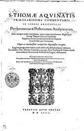 S. THOMAE AQVINATIS PRAECLARISSIMA COMMENTARIA IN LIBROS