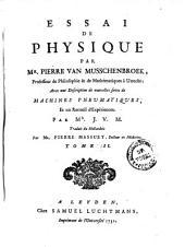 Essai De Physique: Volume2