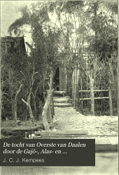 De tocht van Overste van Daalen door de Gajō, Alas-en Bataklanden: 8 Februari tot 23 Juli 1904