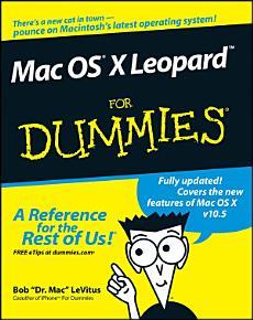 Mac OS X Leopard For Dummies PDF