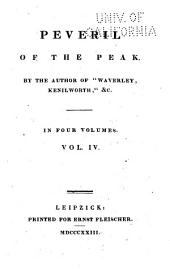 Peveril of the peak: Volume 4