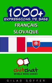 1001+ Expressions de Base Français - Slovaque