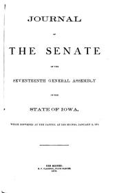 Journal of the Senate of the ... General Assembly of the State of Iowa