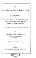 The Treasury of Bible Knowledge PDF