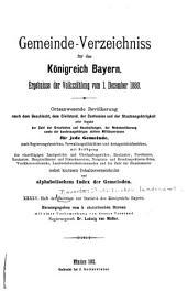Beiträge zur Statistik Bayerns: Ausgaben 45-46