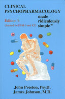 Clinical Psychopharmacology Made Ridiculously Simple PDF