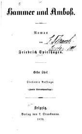 Hammer und Amboß : Roman. 1