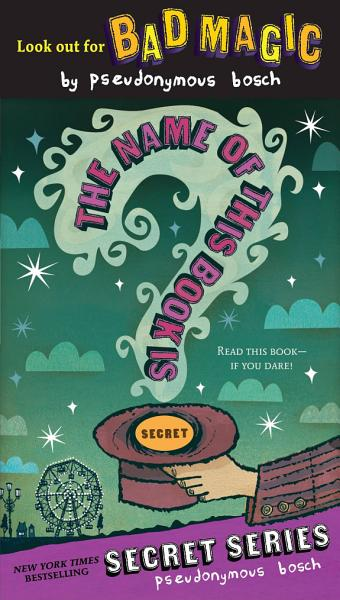 Download The Name of this Book Is Secret Book