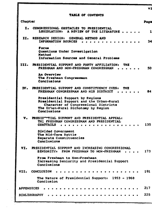 Freshmen Congressmen  Variations in Support for Presidential Legislation  1953 1968 PDF