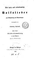 Alte hoch  und niederdeutsche Volkslieder  herausg  von L  Uhland PDF