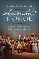 American Honor PDF