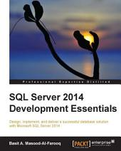 SQL Server 2014 Development Essentials
