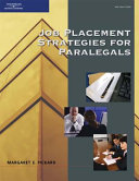 Job Placement Strategies for Paralegals PDF