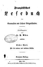 Franzosisches lesebuch