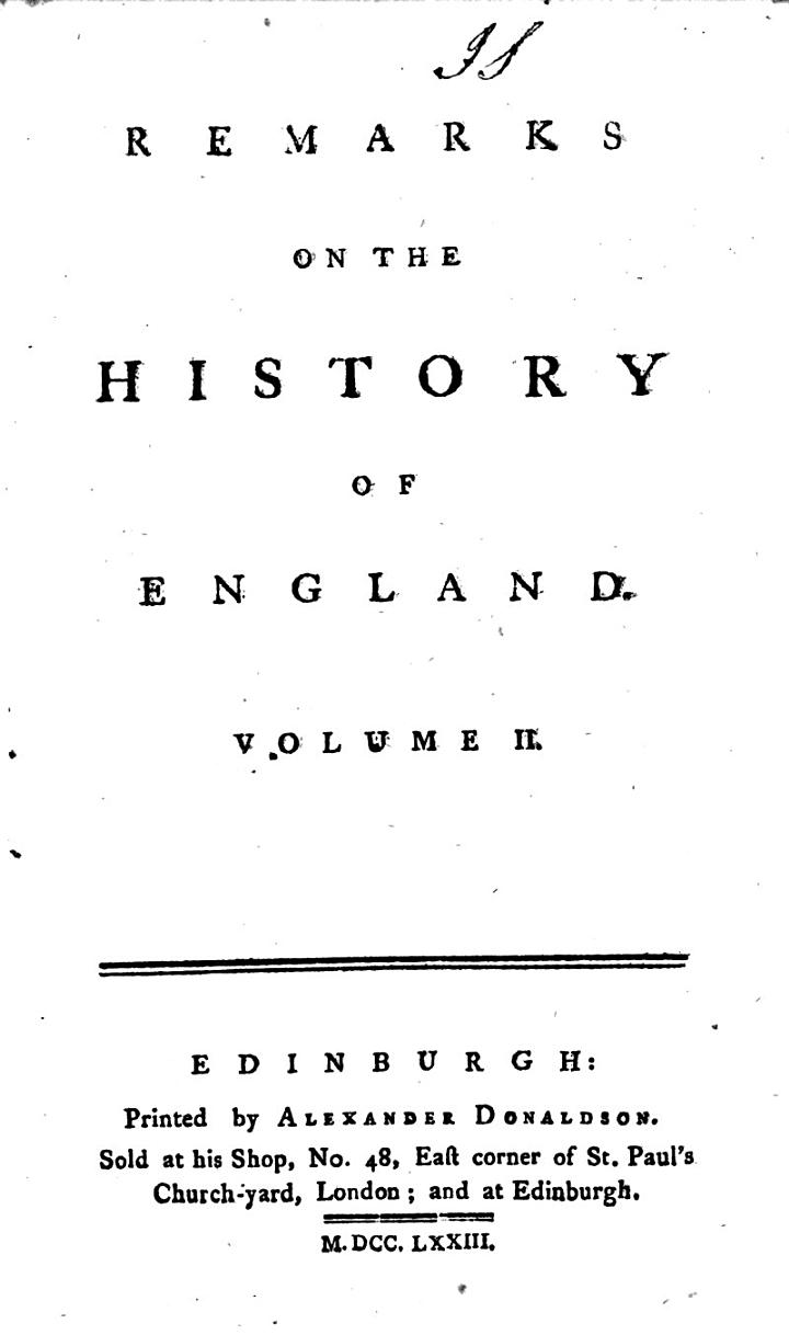 The Miscellaneous Works of the Right Honourable Henry St. John, Lord Viscount Bolingbroke