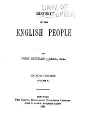 History of the English People: Volume 5